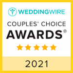 WeddingWire award badge